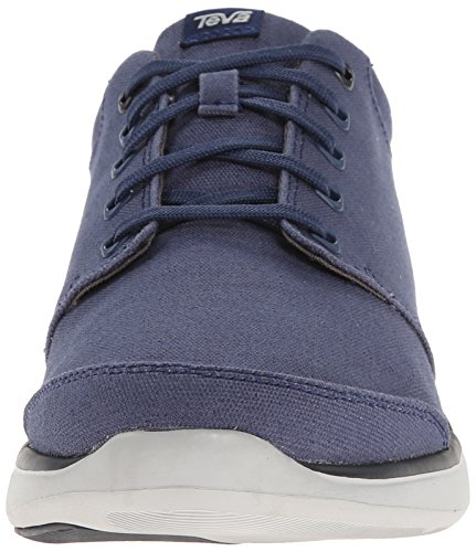 Teva Mens Wander Low-top Canvas Schoen Marine