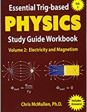 Essential Trig-based Physics Study Guide Workbook: Electricity and Magnetism