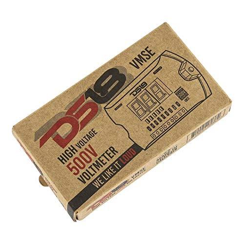 DS18 VMSE High Voltage 500V Voltmeter with LED Voltage Gauge