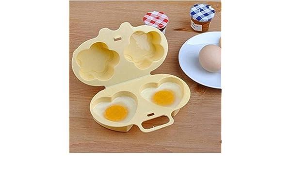 Pocktyle - Vaporizador para horno de microondas para cocinar huevos fritos: Amazon.es: Hogar