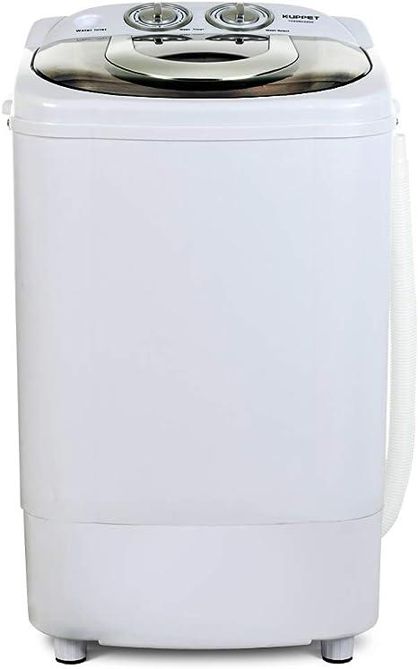 KUPPET Mini lavadora portátil para lavandería compacta, capacidad ...