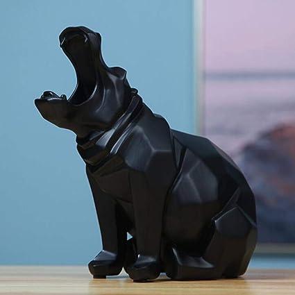 Black Bear Sculpture Modern Art