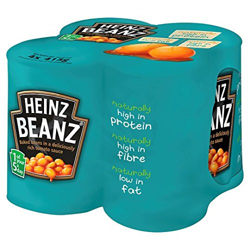 Heinz Baked Beanz In Tomato Sauce 415G X 4 Pack