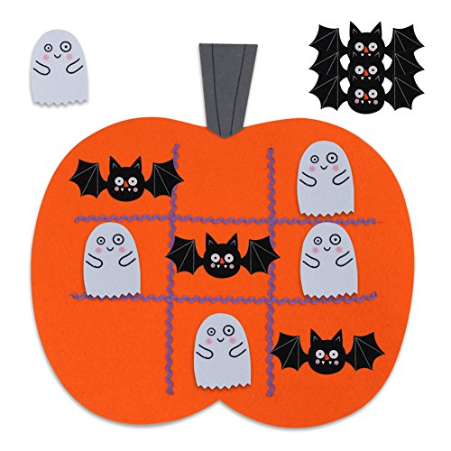 OurWarm 17 x 17 Inch Halloween Games Tic