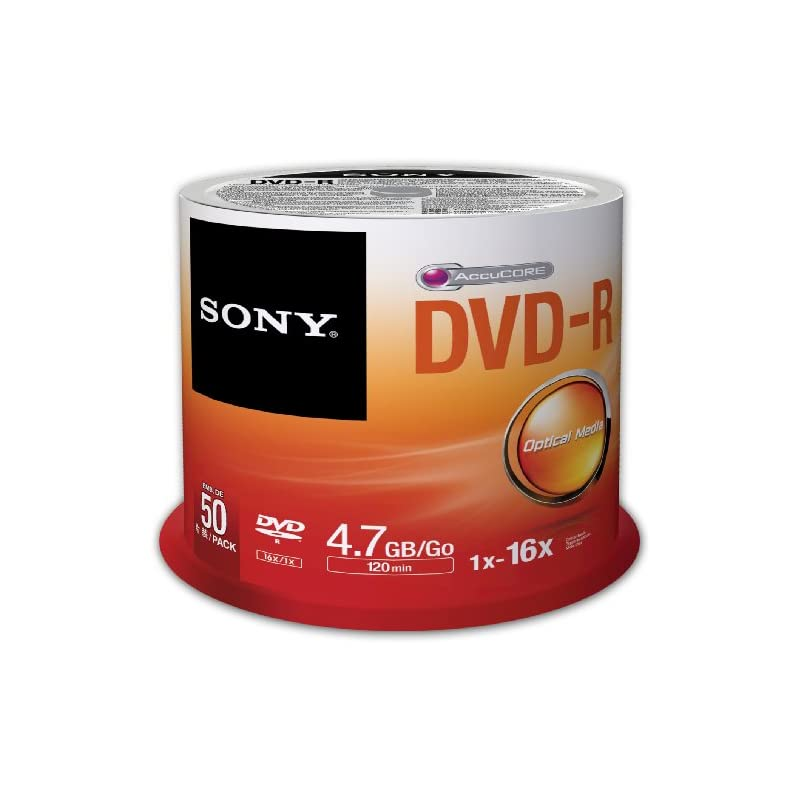 Sony 50DMR47SP 16x DVD-R 4.7GB Recordabl