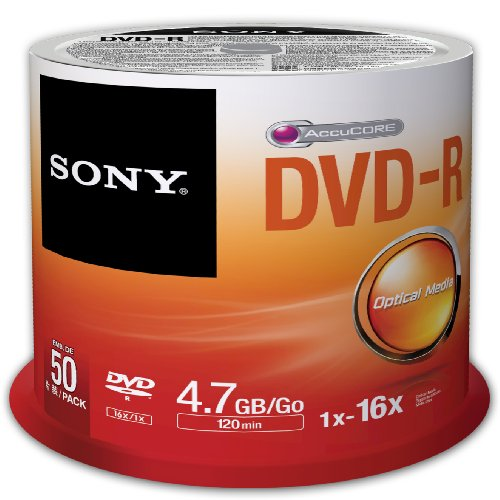 Sony 50DMR47SP 16x DVD-R 4.7GB