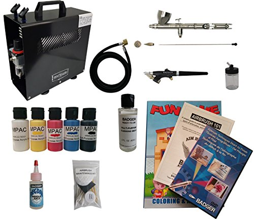 Badger Air-Brush Co. Deluxe Multi Airbrush Starter System