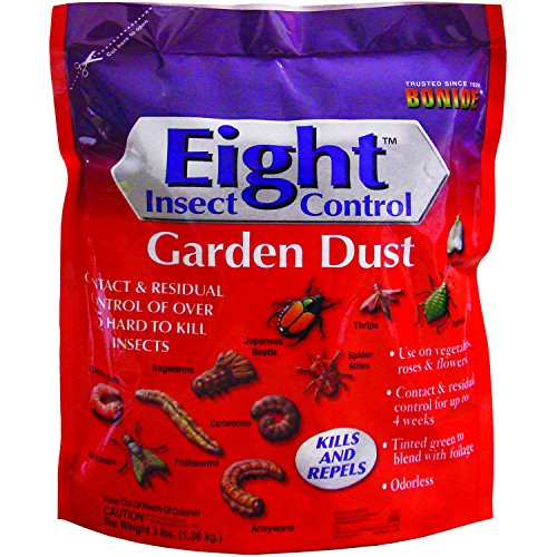 Bonide 786 Eight Insect Control Garden Dust Pest Control, 3-Pounds -  BONIDE PRODUCTS INC, 109422