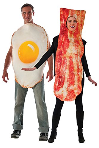 Adult Bacon and Egg Costume Set -