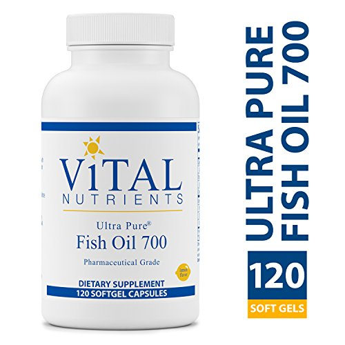 Vital Nutrients - Ultra Pure Fish Oil 700 (Pharmaceutical Grade) - Hi-Potency Deep Sea Fish Oil
