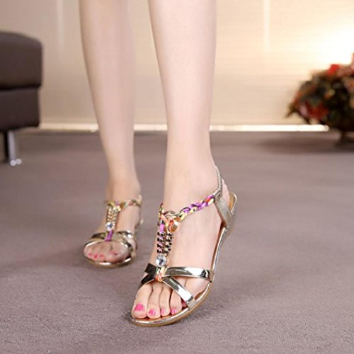 T Bling Chaussures Summer 3 Plein Sparkly Toe Fit Air Up Platform Sandals Strap Or Cuir 7 Wide Femmes de Lolittas Or pour Lace Argent Wedge Taille Diamante Glitter Peep Strappy Slingback Pgqwvfxdv4