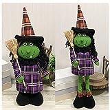 Halloween Pumpkin,AOFJOSFHS Halloween Pumpkin Scalability Halloween Prop Decorations for Party (C)