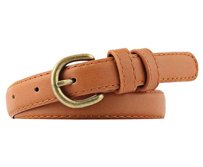 3cm breite Herren Damen Gürtel Jeansgürtel PU Ledergürtel für Anzug Jeans Kleid
