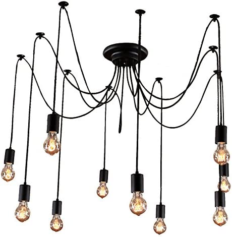 Unitary Brand Antique Black Large Barn Chandelier