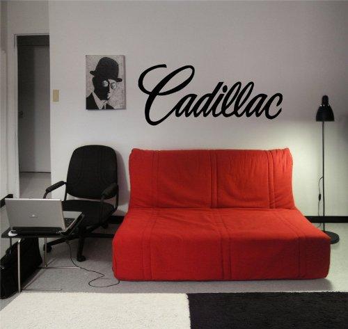 CADILLAC LOGO WALL ART STICKER DECAL MURAL VINYL D1738