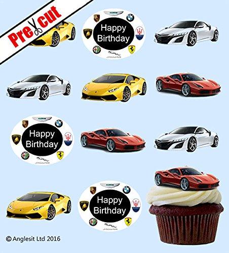 Happy Birthday Cars Cake Design