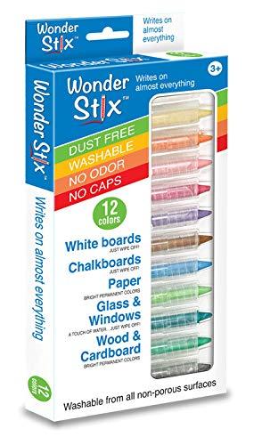 (12pk) - Wonder Stix 12pk Children`s Drawing Chalks by Kwik Stix 8.9cm (TPG-637)