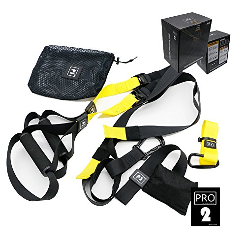 Suspensión Trainer Basic Kit bandas de ejercicio equipo de entrenamiento Yoga Fitness Hanging Cinturón de cuerda para tirar...