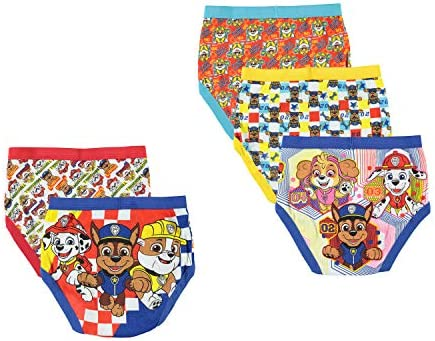 Nickelodeon Paw Patrol Children Various Sizes Pack of 6 Boys Briefs