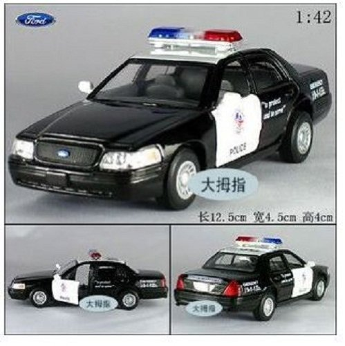 Used, Ford Crown Victoria Police Interceptor 1/42 Scale Diecast for sale  Delivered anywhere in USA