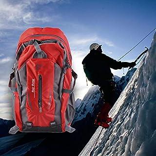 ArgoBar Alpinisme 40L Sac à bandoulière en Nylon de l'eau Unisexe Voyage randonnée Sac à Dos (Couleur: Rouge) (Taille: 40L)