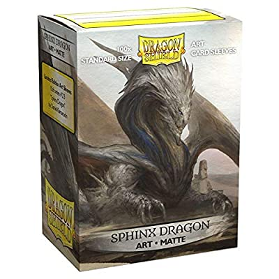 Dragon Shield Standard Size Matte Art Sleeves – 100 Count Sphinx Dragon: Sports & Outdoors