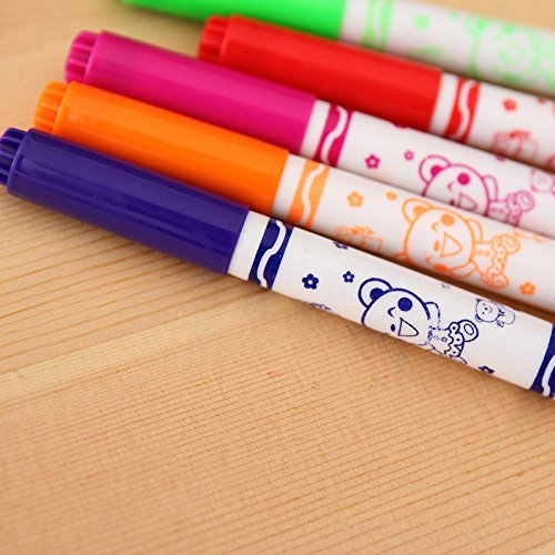 Zap ImpexΒ' Set of 12 Magic Spray Blow Marker Pens (Assor...