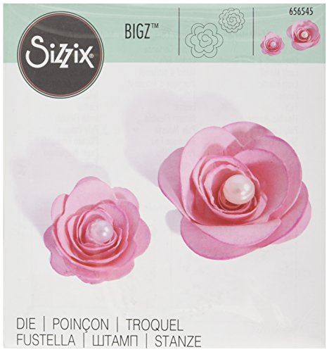 Sizzix Bigz Die - Flowers, 3-D by Beth Reames (Metallic Flower)
