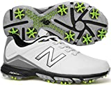 New Balance Men's nbg3001 Golf Shoe, White/Green, 10.5 D US