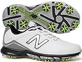 New Balance Men's nbg3001 Golf Shoe, White/Green, 9.5 D US