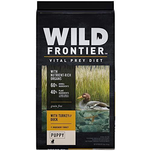 Wild Frontier Vital Prey Puppy Dry Dog Food With Turkey & Duck, 24 Pound Bag