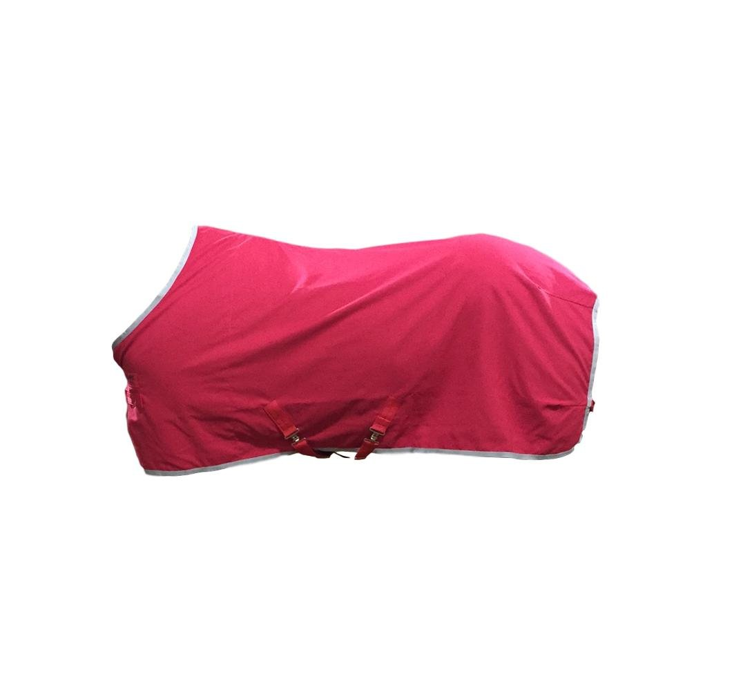 Horseware Helix Stable Sheet Red/Charcoal 72 by Horseware