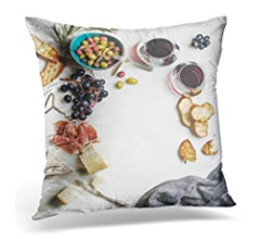 Amazon.com: Emvency Throw Pillow Covers Oviedo Spain August ...