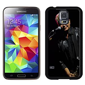 Beautiful Designed Cover Case With Iva Davies Microphone Guitar Show Play For Samsung Galaxy S5 I9600 G900a G900v G900p G900t G900w Phone Case