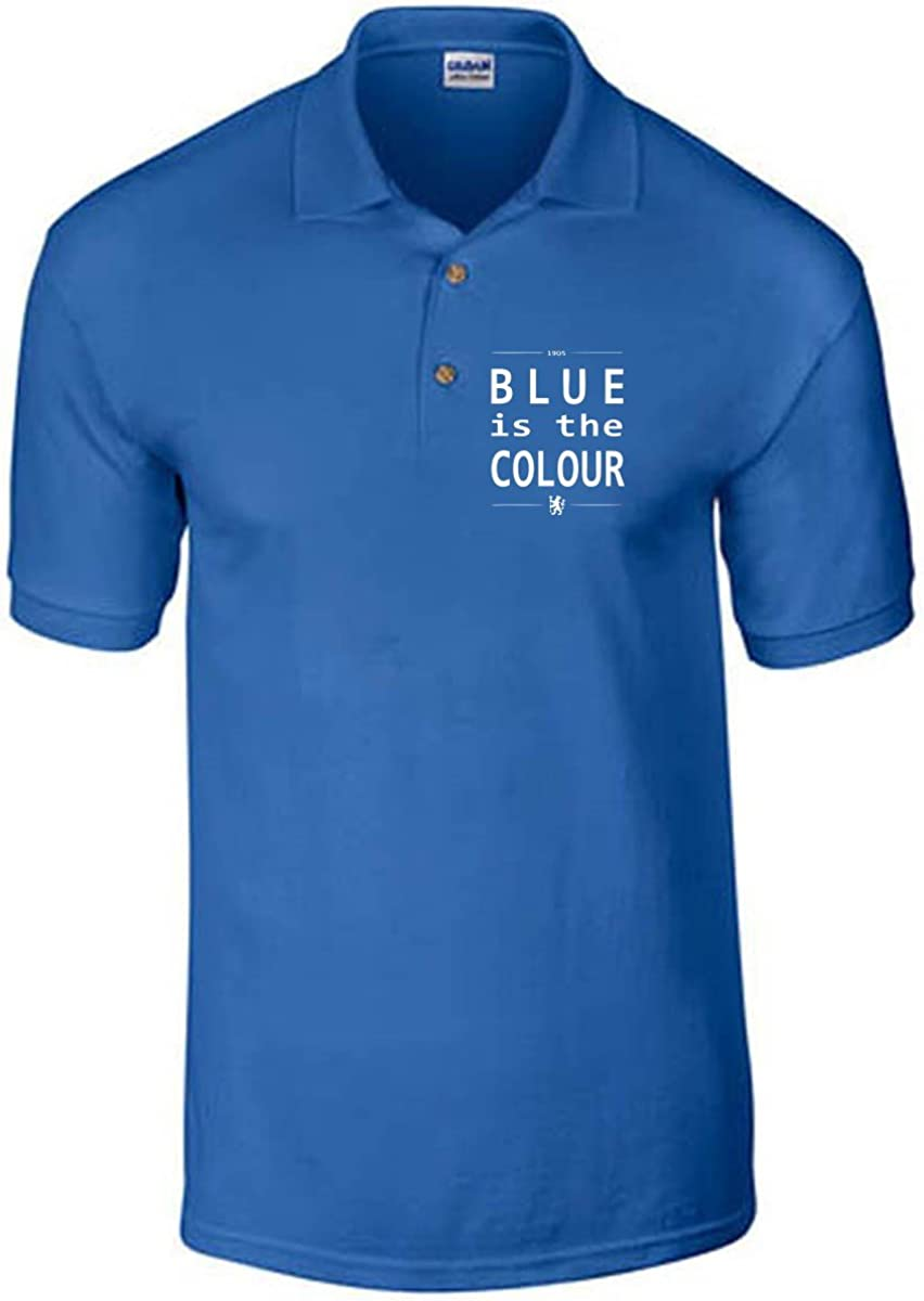 T-Shirtshock - Polo WC0220 Blue is The Colour Chelsea, Talla XL ...