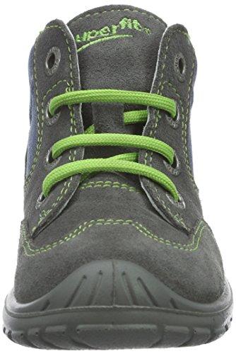 Superfit Softtippo - Botas de senderismo Bebé-Niñas Gris - gris (stone kombi 06)