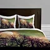 DENY Designs Shannon Clark Moon Magic Duvet Cover, King