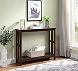 Convenience Concepts 203399ES Mission Console Table, Espresso