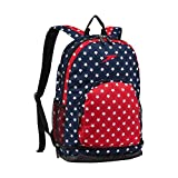Speedo Super Sonic Backpack, Red/White/Blue, 25 L
