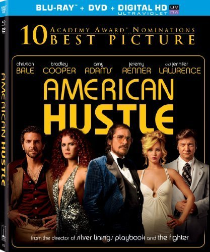 American Hustle (Blu-ray + DVD + Digital HD with UltraViolet) by Sony Pictures Home Entertainment