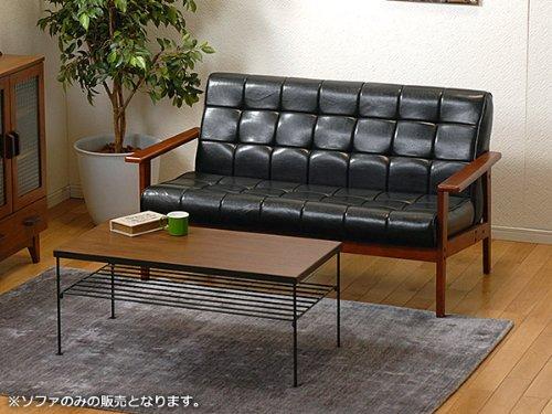 SOFA ソファー シャーク2P-BK 【代引不可】 インテリア 椅子ソファ mirai1-280598-ak [並行輸入品] [簡易パッケージ品]   B06Y1C294C