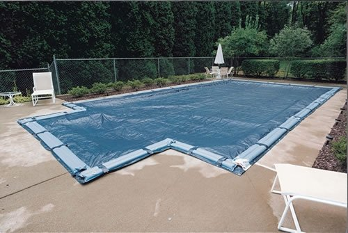 Ig Pool Covers (GLI Aquacover Estate Plus Bound 20 by 44-Feet Rectangular Solid Winter Cover System for Inground Pools)