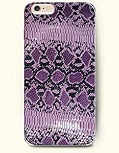 Case For Samsung Note 2 Cover with Design of Purple And Black Serpent PatteSnake Skin Print -OOFIT Authentic