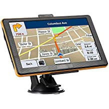 [Patrocinado] GPS Navigation for Car 7 Inches Widescreen Capacitive Touch Screen 8GB Portable Car Navigation Systems, Portable Navigation Built-Date Map Data and Free Lifetime Map Updates