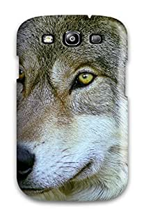 Ultra Slim Fit Hard ThomasSFletcher Case Cover Specially Made For Galaxy S3- Animal Wolf