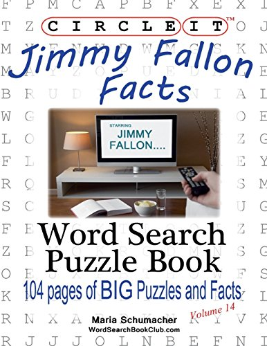 Circle It, Jimmy Fallon Facts, Word Search, Puzzle Book