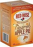 Red Rose Sweet Temptations Caramel Apple Pie Tea - 18 Count (6-Pack)