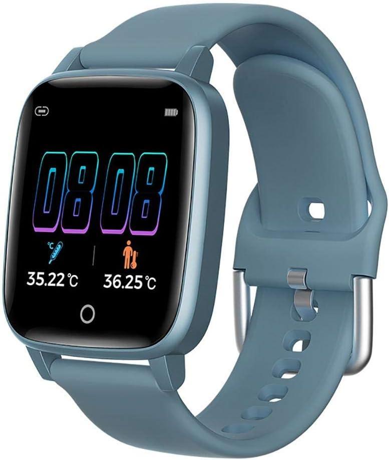 Mona43Henry Reloj Inteligente, Impermeable Reloj Inteligente Con Pulsómetro, 1.3 Pulgada Pulsera Actividad Inteligente Con Podómetro Monitor De Sueño, Reloj Actividad