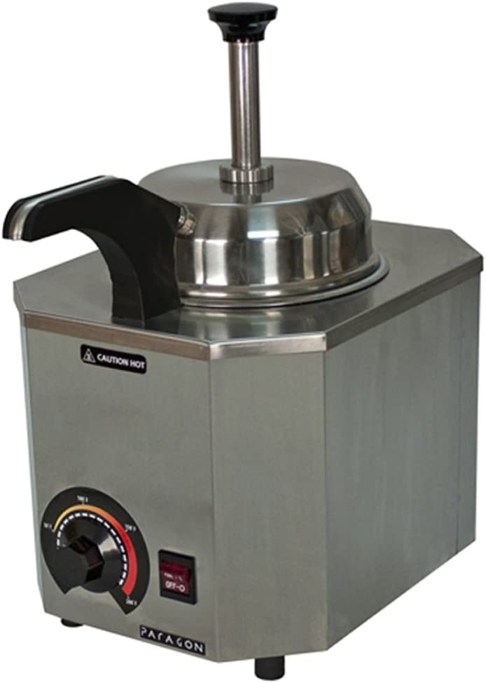 Paragon Pro-Deluxe 2028C Heated Pump for Professional Concessionaires Requiring Commercial Quality & Construction 500W Accommodates #10 Can