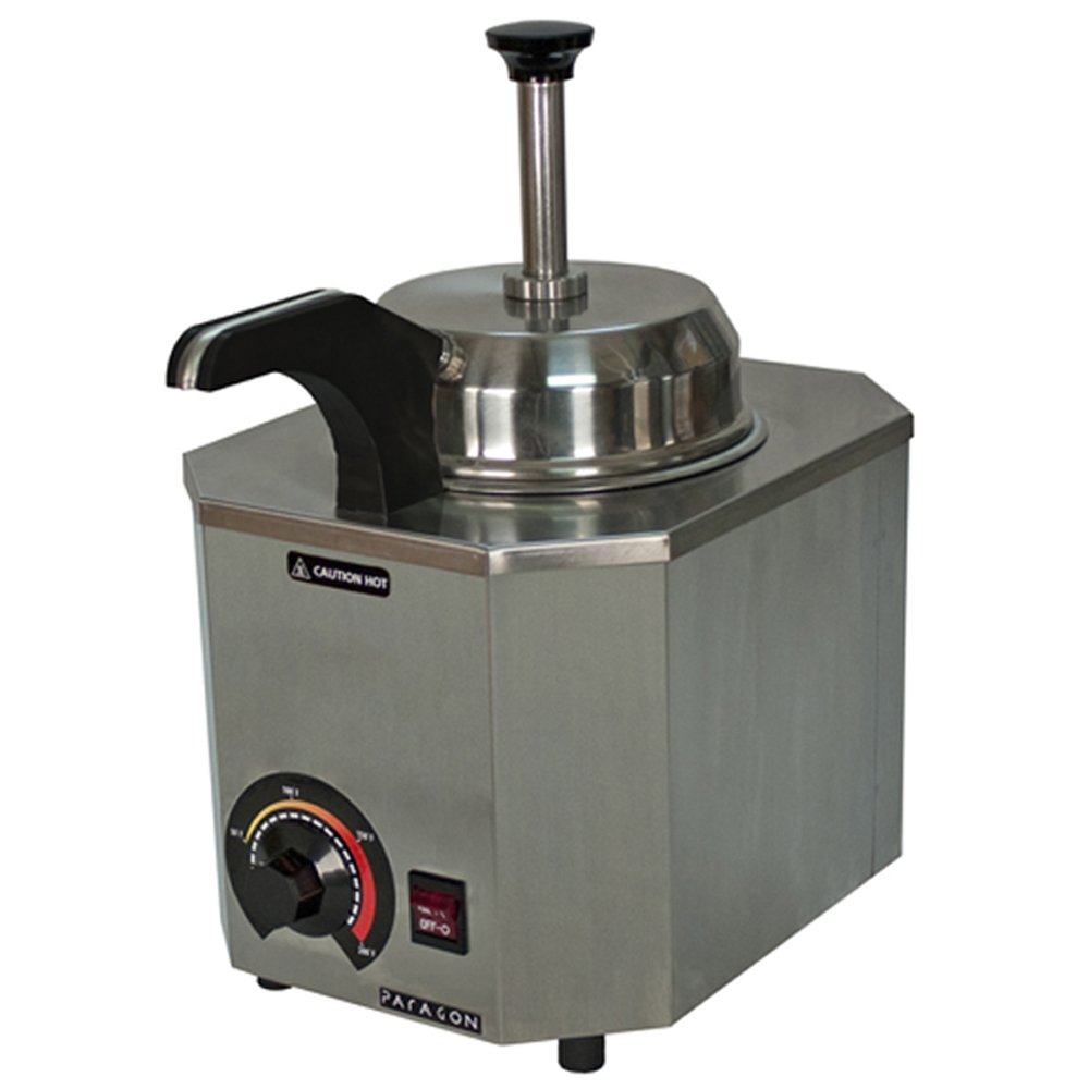 Paragon Pro-Deluxe 2028C Heated Pump for Professional Concessionaires Requiring Commercial Quality & Construction 500W Accommodates #10 Can by Paragon